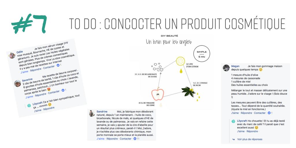 réaliser moi-même un produit cosmétique durable, écologique, naturel et responsable.