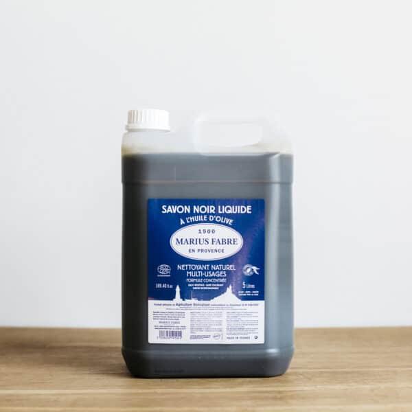 savon noir liquide marius fabre 5l