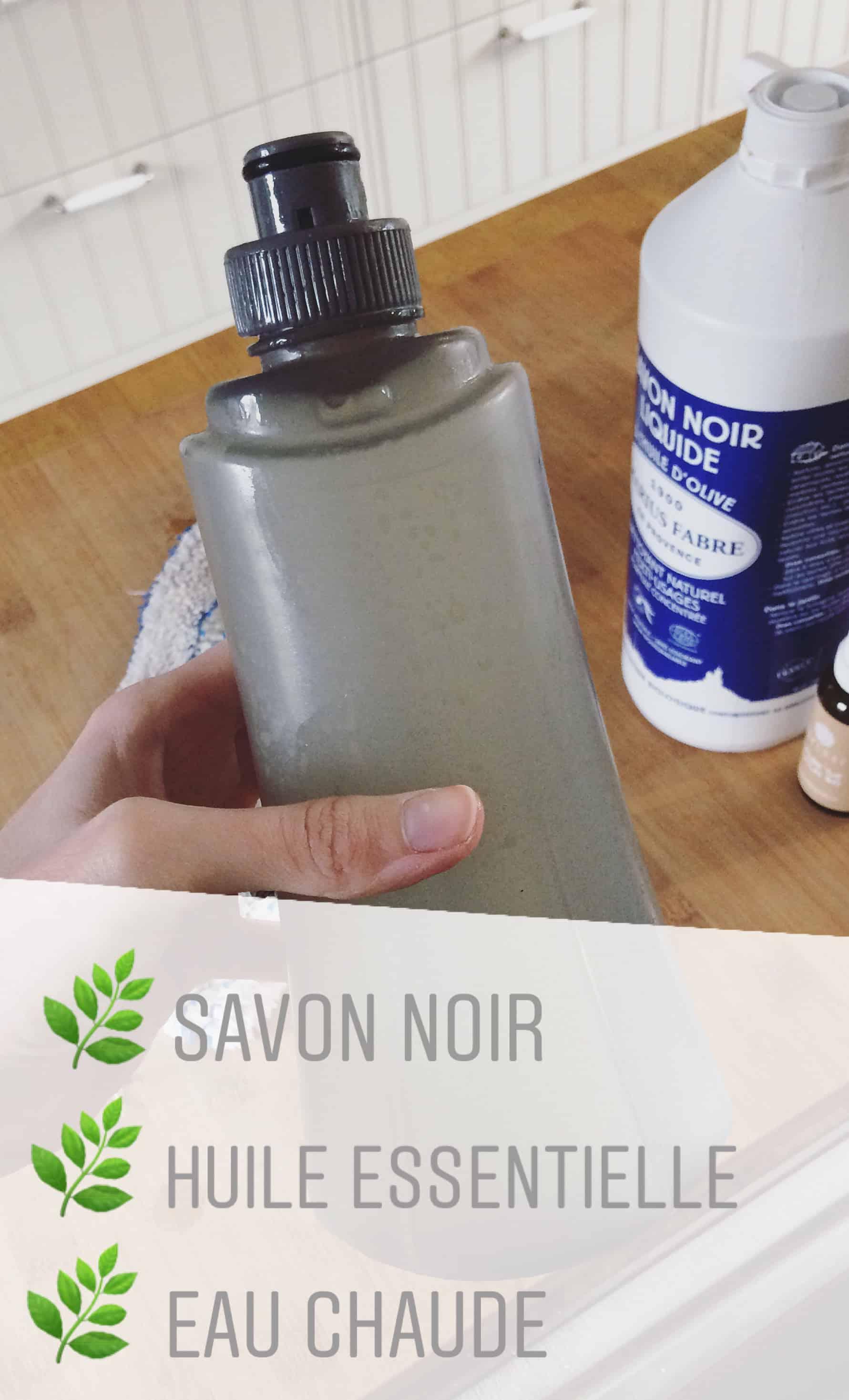 3 ingrédients naturels pour un nettoyant pour sol passe partout