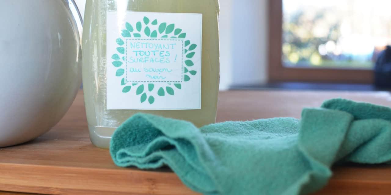 nettoyant toutes surfaces au savon noir