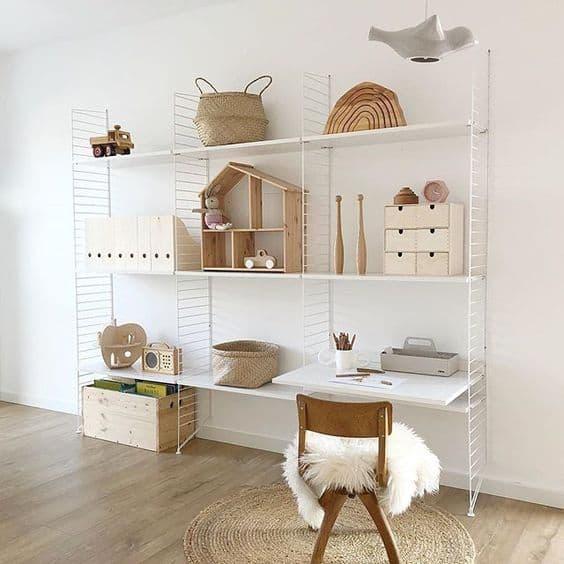 espace enfant minimaliste