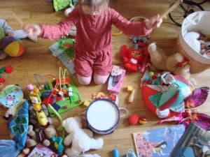 laver les jouets des enfants